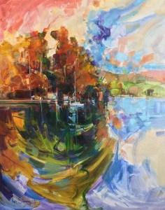 Ken Strong, Norfolk Hideaway, 28x35.5, Oil on canvas