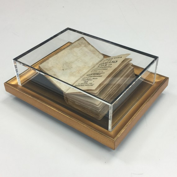 Custom Display Box for 16th Century Book