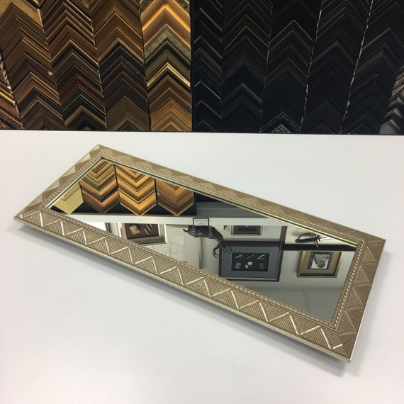 Custom Framed Mirror Tray