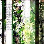 Plexi Glass Collage Construction by Donald Dusenberrie boost