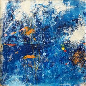 """Buck Nelligan, """"Untitled Abstract 2"""", Acrylic on Canvas, 30"""" x 30"""""""