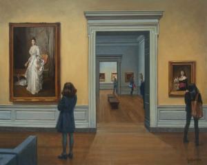 figurative art museums Bradley Stevens 2