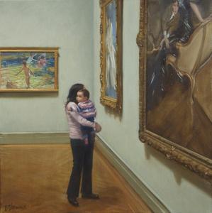 figurative art museums Bradley Stevens 4 1