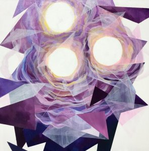 "Natalie Jackson, ""Greater Things"", 24"" x 24"", Acrylic on Canvas"