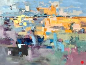 "SOLD - ""Fresh Air"", Oil on Canvas, 36"" x 48"""