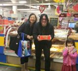 Robby Takac of the Goo Goo Dolls will be enjoying our paczki today with his family. (Photo courtesy: Chrusciki Bakery, Inc.)