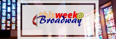 This week @ Broadway