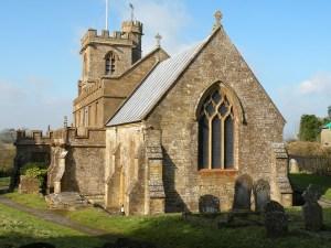 Broadwindsor village church