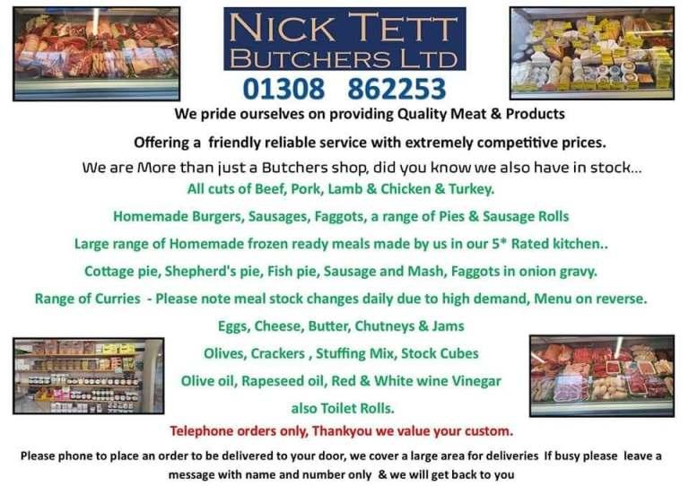 Nick Tett - Butcher