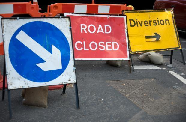 Overnight Parking Restrictions & Road Closures Next Week
