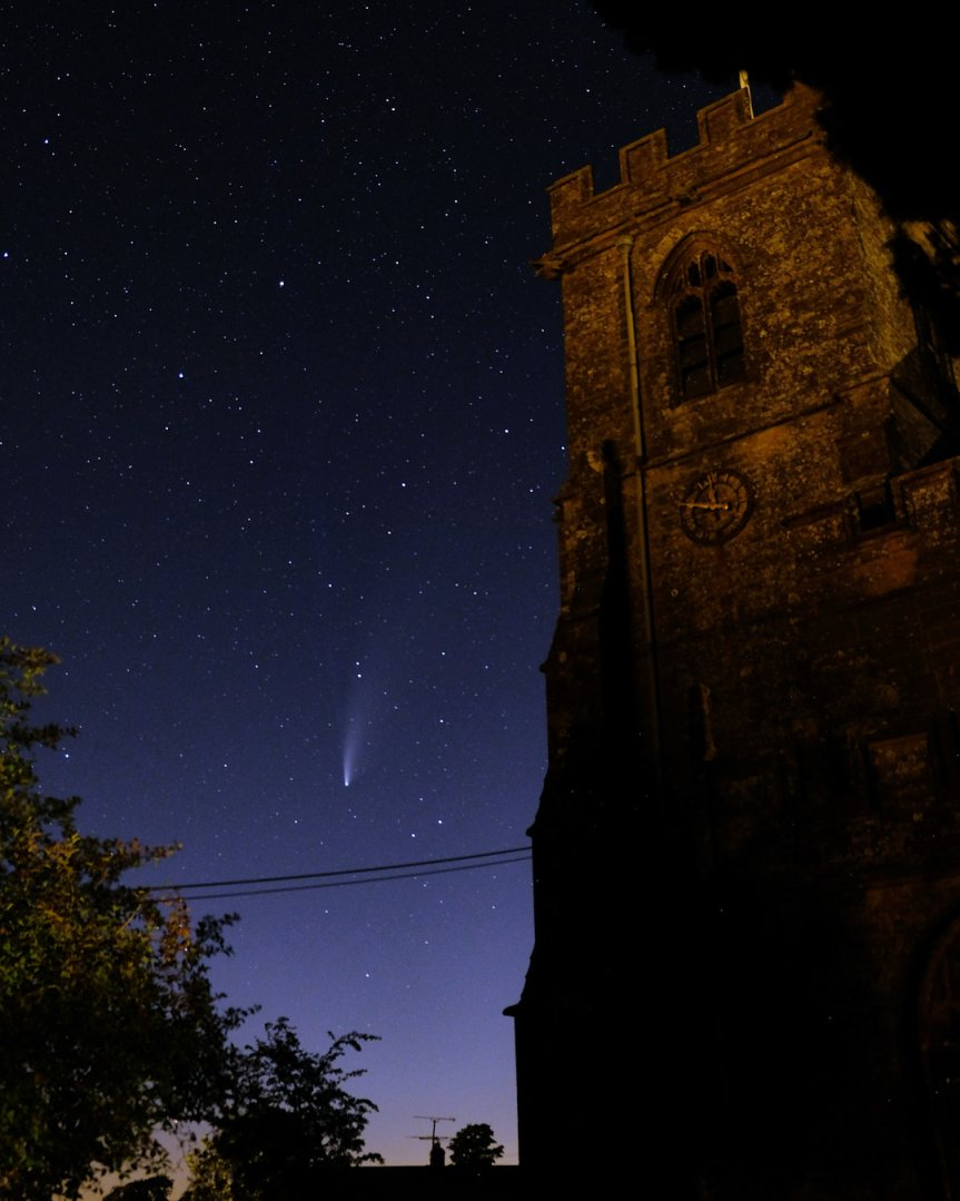 Comet Neowise & Perseids