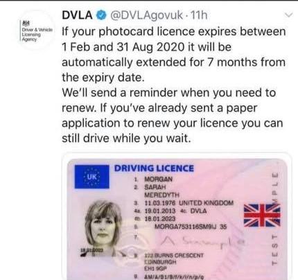 Photocard License