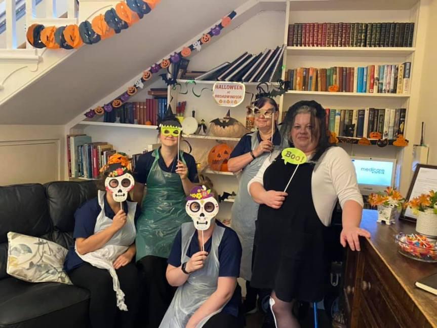 Happy Hallowe'en From Broadwindsor House