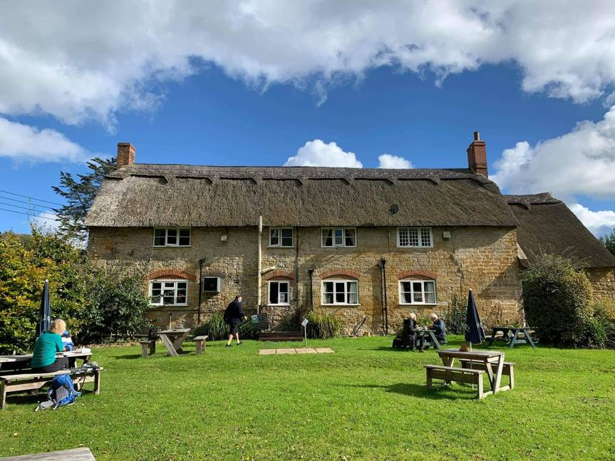 Congratulations To The New Inn At Stoke Abbott & The Half Moon At Melplash