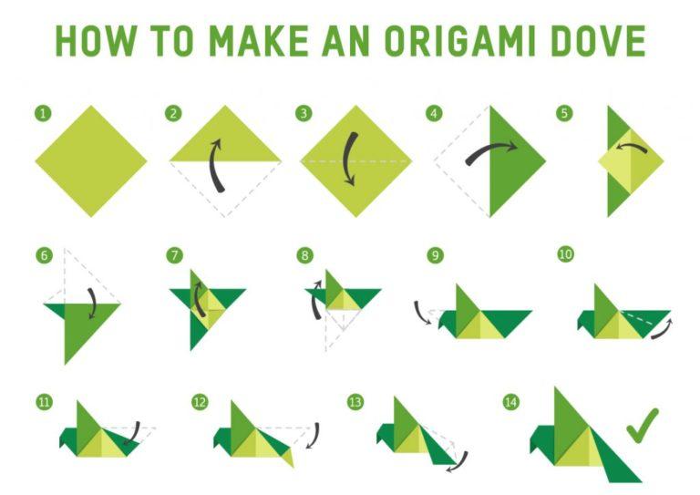 Make an Origami Dove