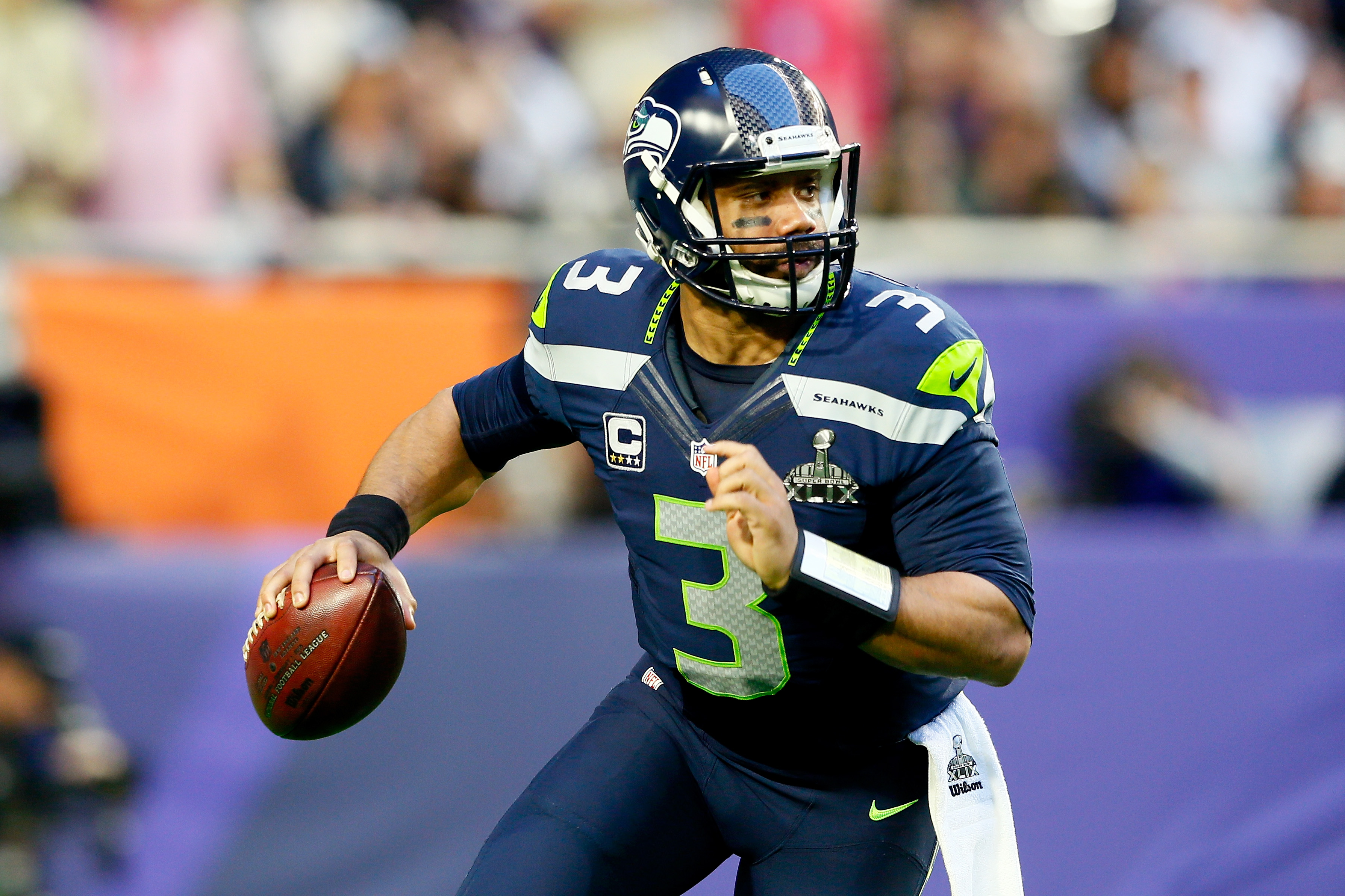 The Bears Have Reportedly Been 'Really Persistent' In Trading For Russell Wilson After Learning Wilson Is Interested Playing For Them