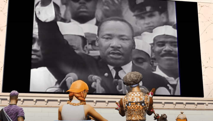 People Baffled After Martin Luther King Jr. Speech Added To 'Fortnite'