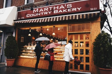 Martha's Country Bakery, to me, is just a cool place to grab okay dessert and coffee when everything else might be closed. Don't get me wrong, it's good dessert but this place is best for the memories I've made while there.