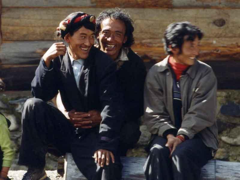 Larima villagers