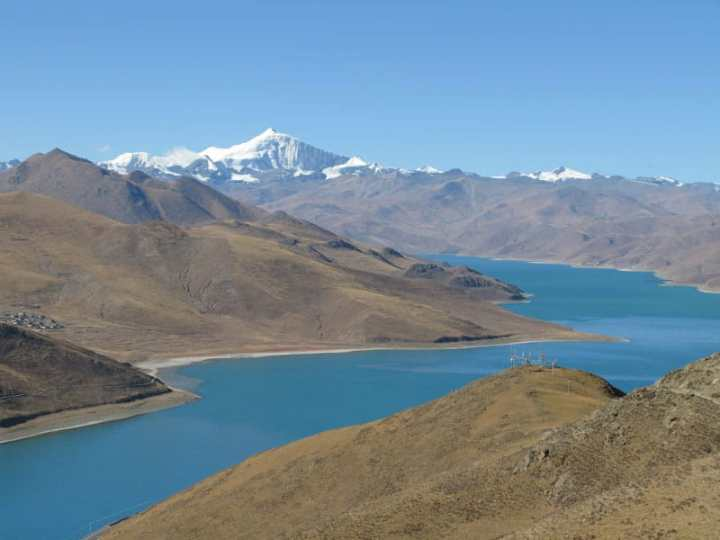 yamdrok-tso on Tibet 5 days