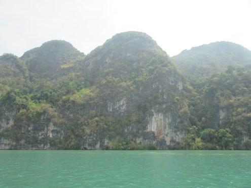 Approaching Panak Island