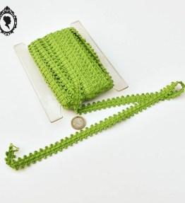 1 Galon vert L 1,7 cm 13 mètres passementerie mercerie vintage pop