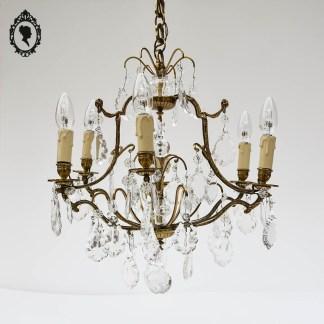 Luminaire, luminaire chic, brocante chic, lustre chic, lustre laiton, lustre cage, lustre pampille, lustre cristal, lustre 6 feux, lustre 6 branches, lustre 6 lumières, lustre 6 bougies, lustre 6 ampoules, lustre 6 bras, lustre rocaille, lustre, lustre ancien, lustre à pampilles, lustre baroque, lustre vintage, suspension plafonnier, lustre cage ancien, lustre cage pampille, lustre romantique, lustre luxe, lustre élégant, lustre bronze, lustre volutes, lustre cage à pampilles, pampille gouttes, pampille, suspension pampille, suspension doré, lustre doré, suspension laiton, suspension ancienne, suspension vintage, lustre bronze, suspension bronze, luminaire bronze,