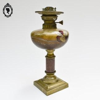 Lampe, lampe ancienne, lampe à pétrole, lampe à pétrole ancienne, lampe Matador, Matador, lampe orange, lampe marbre, lampe à pétrole orange, lampe à pétrole verte, lampe à pétrole en marbre, lampe 1900, lampe début XXème, lampe française, lampe ancienne française, lampe à pétrole française,