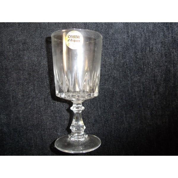 Coffret de 6 verres  eau cristal dArques modle Louvre  brocantelestrouvaillesdecaroline