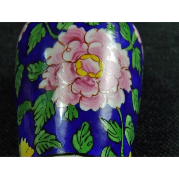 Petit Vase En Porcelaine De Limoges De Style Art Dco