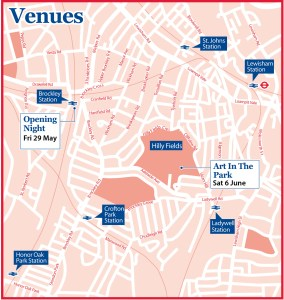 Map of Brockley SE4