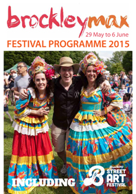 Brockley Max Festival programme cover