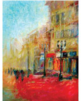 Painting used to promote art courses in Brockley