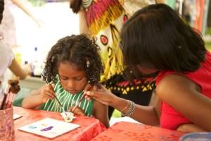 Children's Activities at Art In The Park