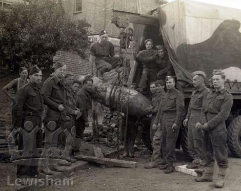 WW2 Brockley UXB HG Wickham Road