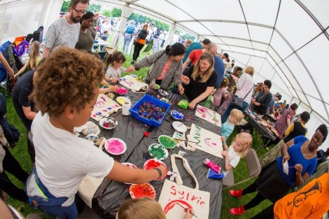 Inside the Magical Marquee of Making at Art In The Park 2019