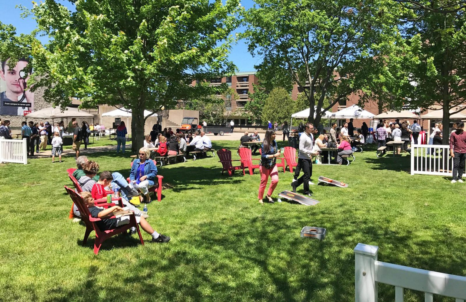 Brock S Backyard Bbq Lunch Series Kicks Off May 23 The Brock News