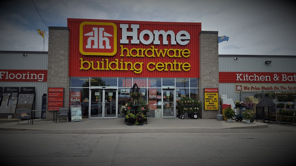 Home Hardware Brockville Store Front Stylized