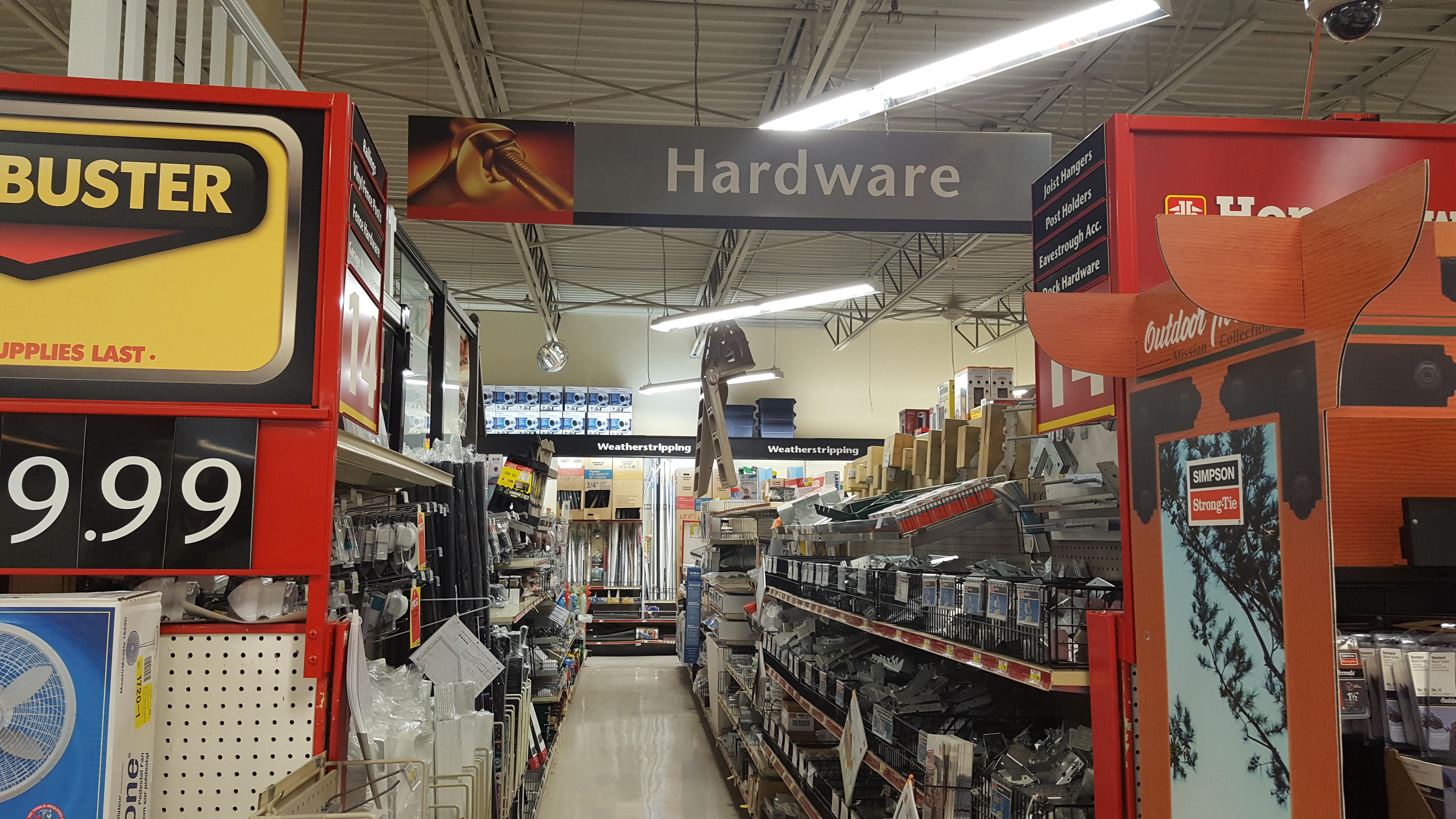 Hardware Department