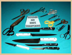 Knife & Scissor Sharpening