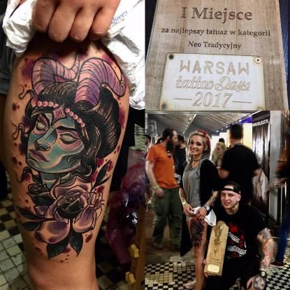 mateusz januszek tatuaz