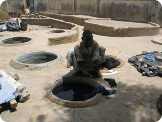 cuve d'indigo Nigeria