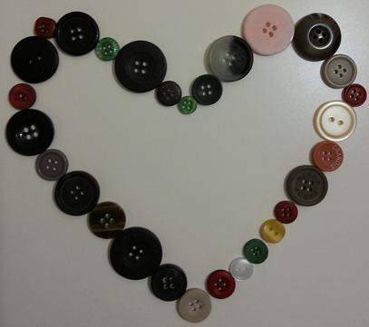coeur bouton