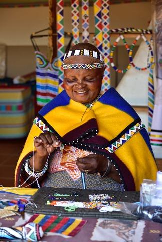 femme Ndebele (Afrique du Sud)