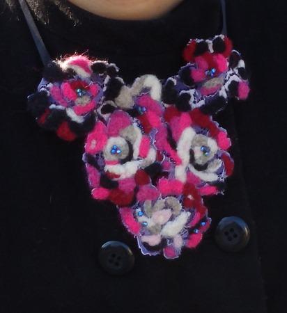 collier d'hiver