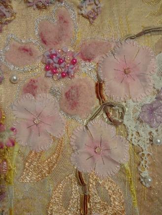 résultat cour art textile d'Ina Statescu détail