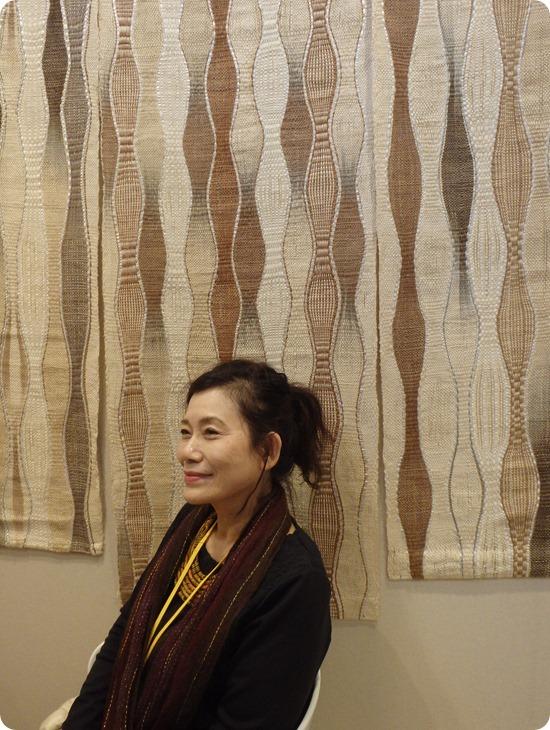 Yukiko Yokoyama tisseuse japonaise
