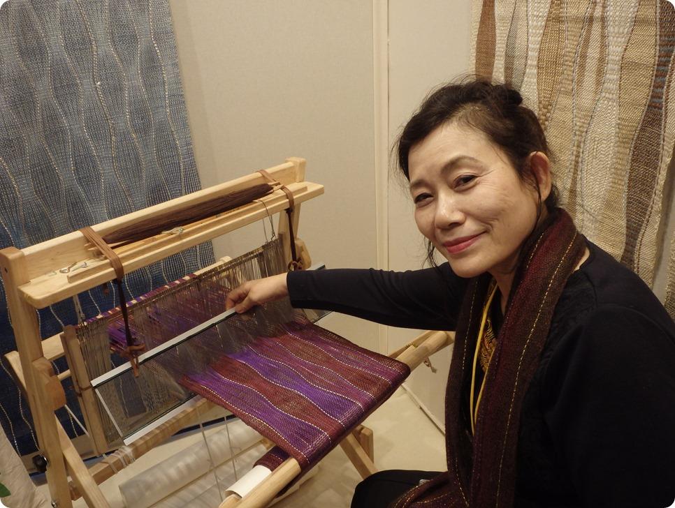 métier à tisser de Yukiko Yokoyama
