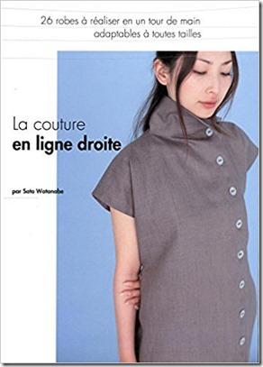 livre couture en ligne droite