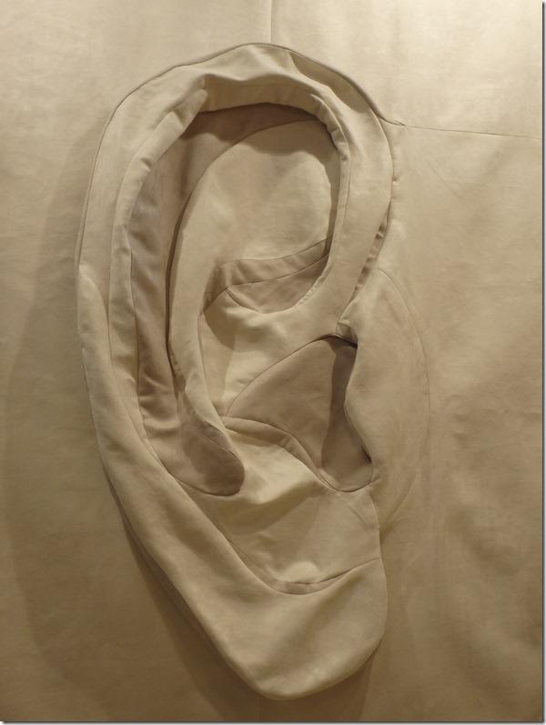 art textile oreille